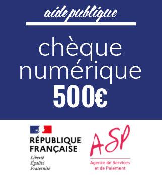 chèque numérique de 500€ pour aider les entreprises fermées pendant le confinement à se digitaliser
