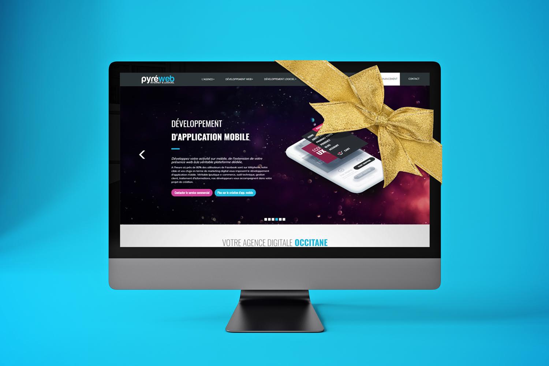 Refonte du site Internet www.pyreweb.com